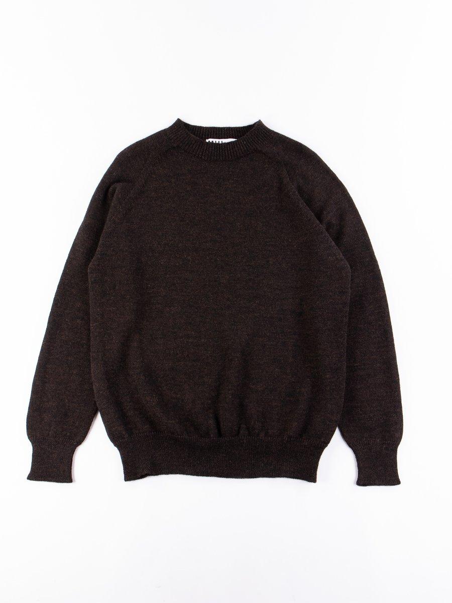 MHL Ebony Dry Merino Crew Neck Sweater