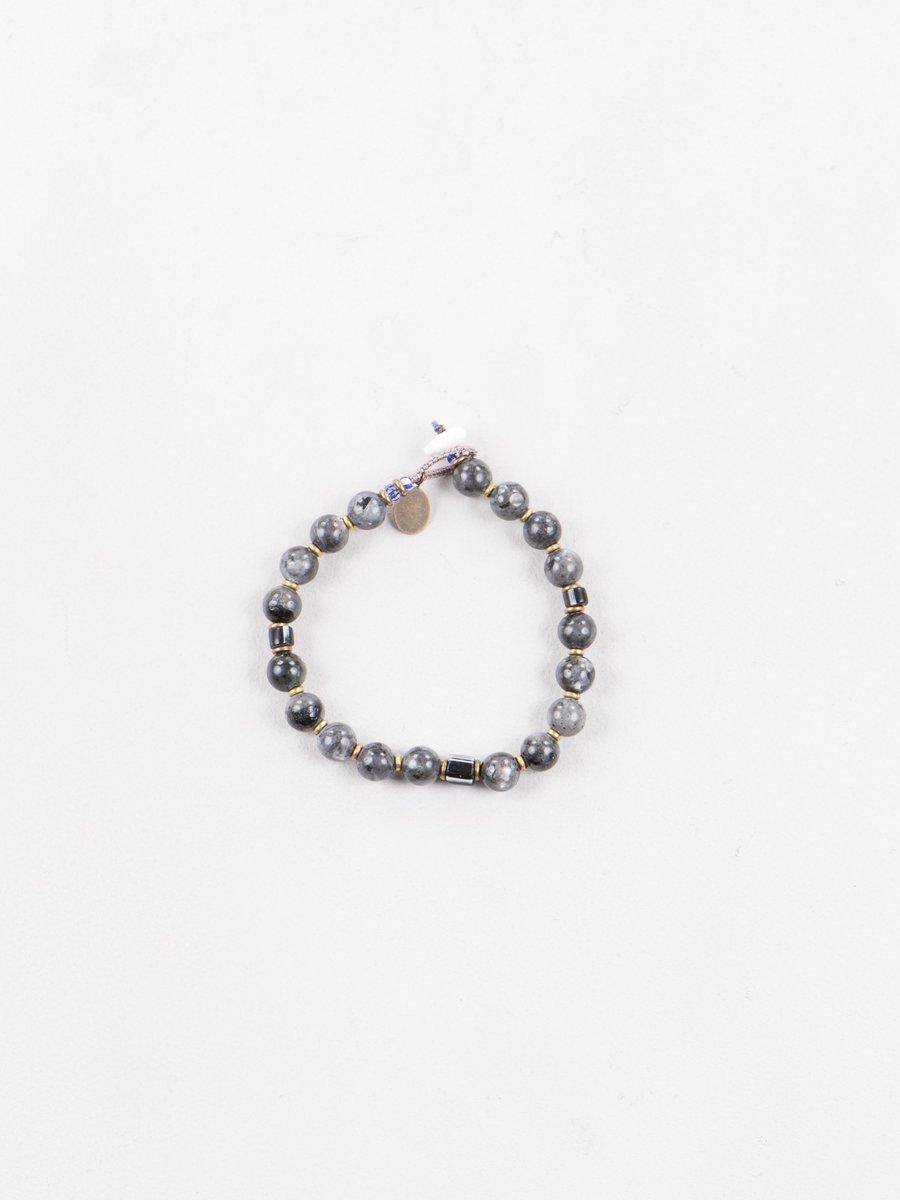 Larvikite 8mm Bracelet