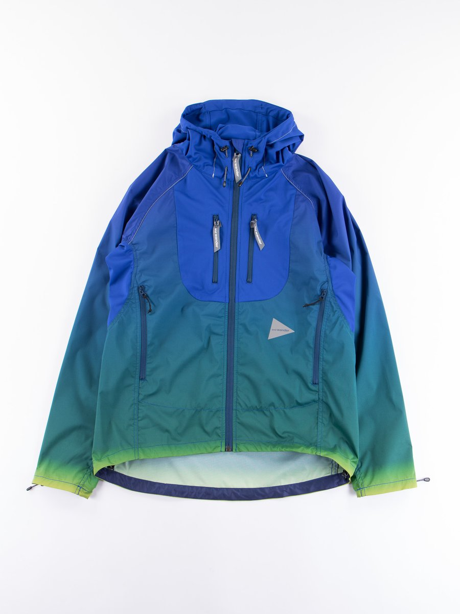 Blue Gradient Color Trek Jacket