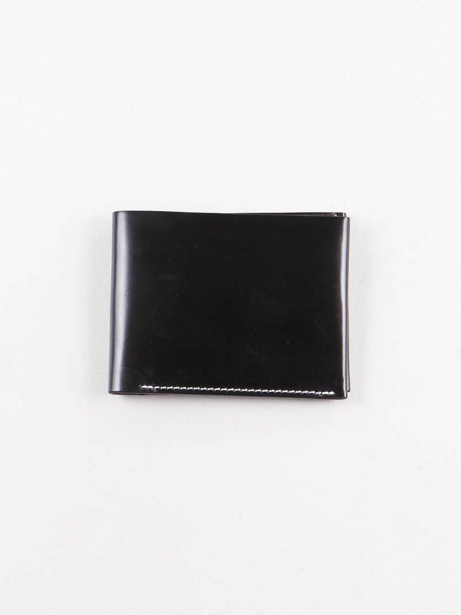 Black Horween Cordovan 4–4 Wallet