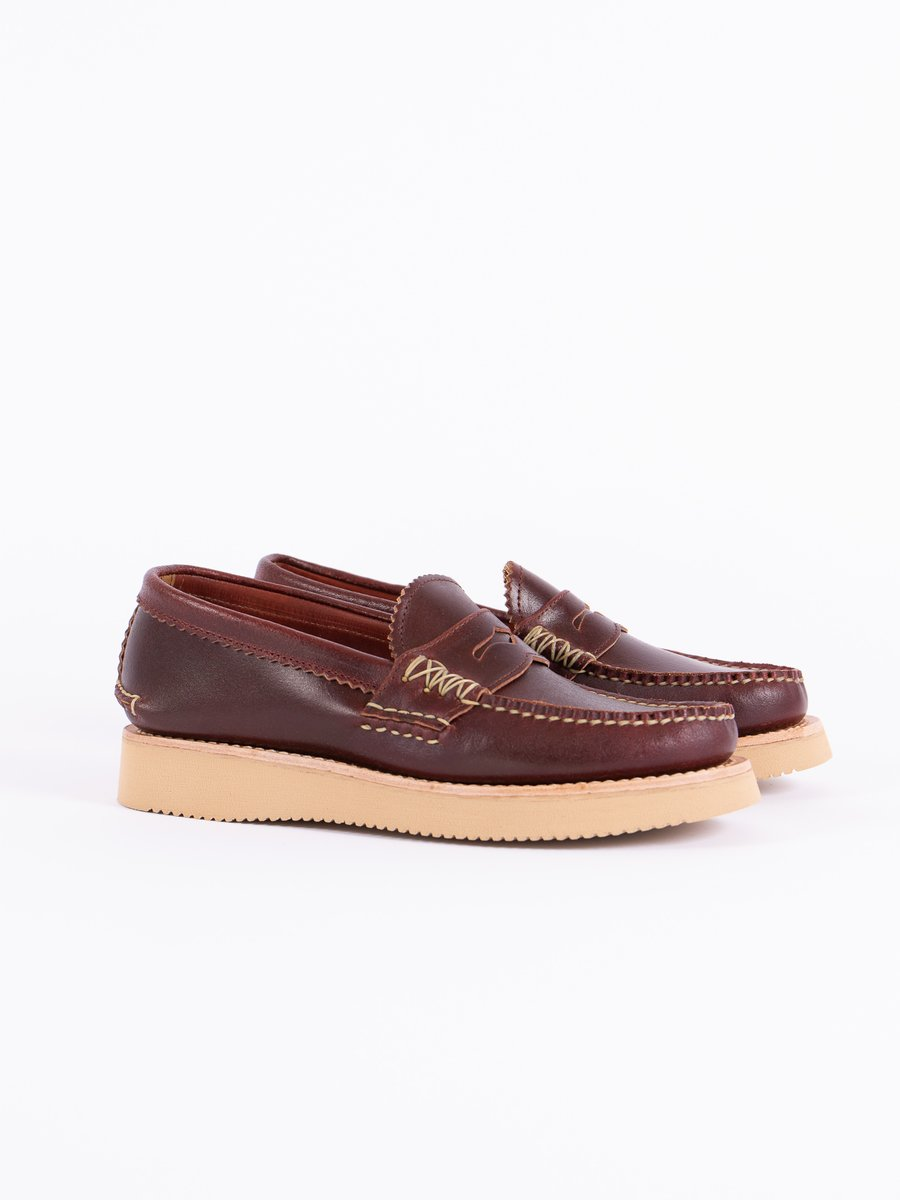 FO Wax Red Loafer Shoe Exclusive
