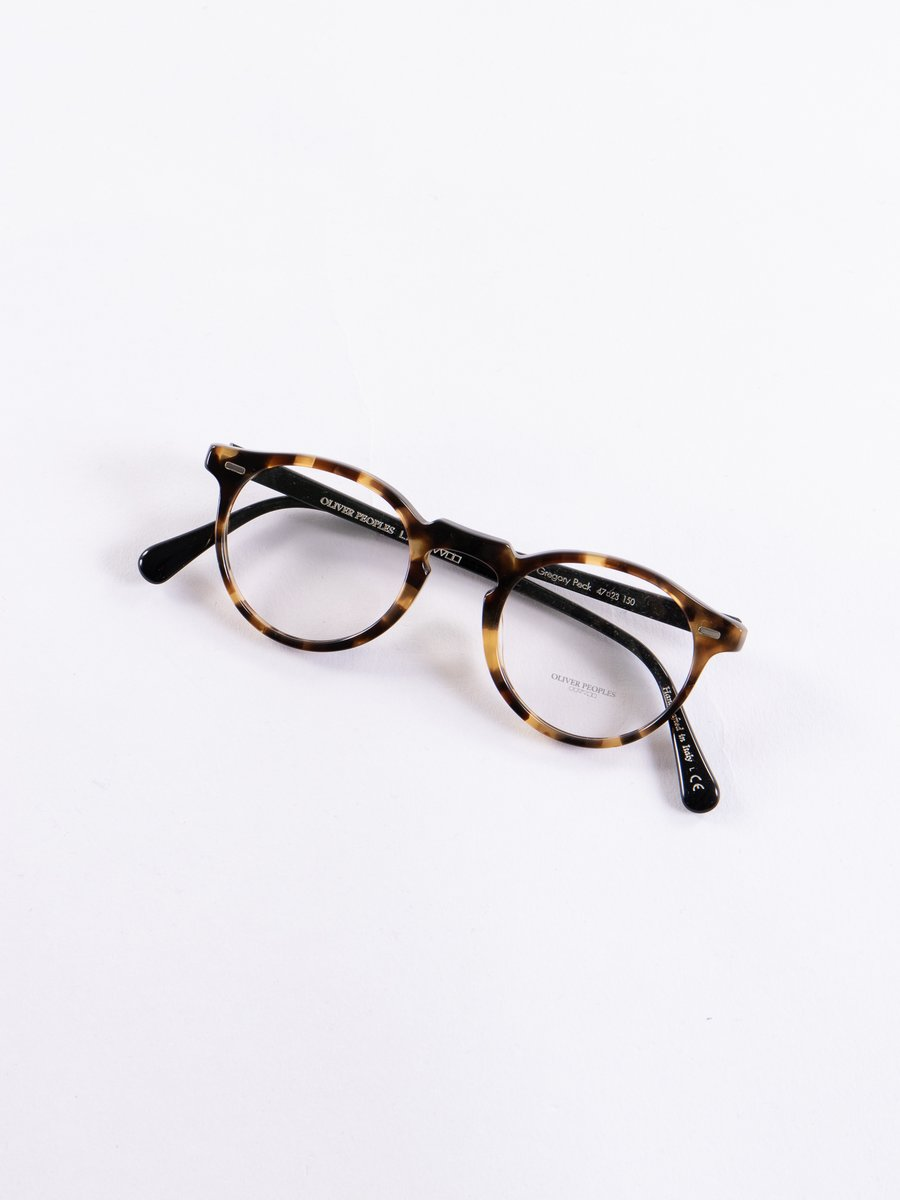 Hickory Tortoise Gregory Peck Optical Frame
