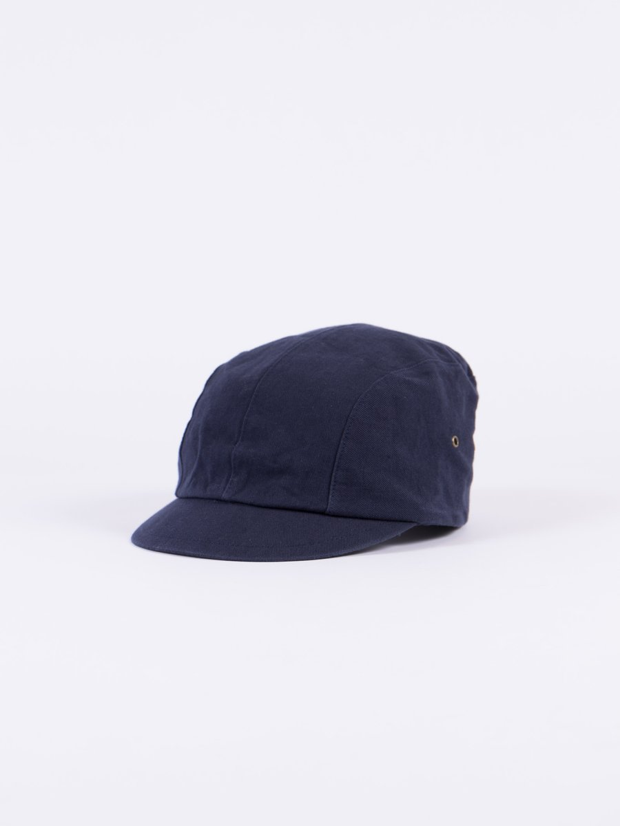 Navy Selvage Chino Cloth Work Cap