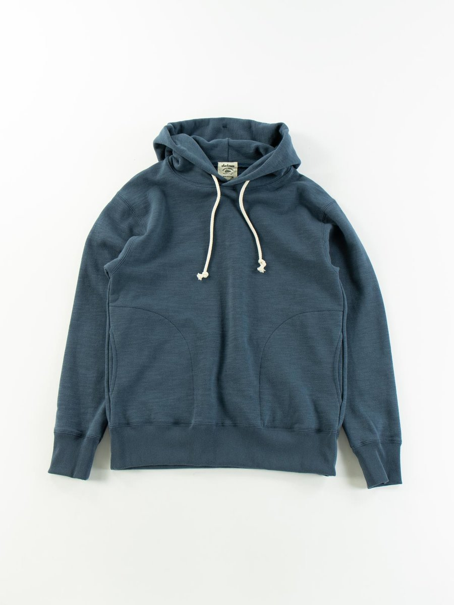 GG SWEAT PULLOVER PARKA ASH BLUE