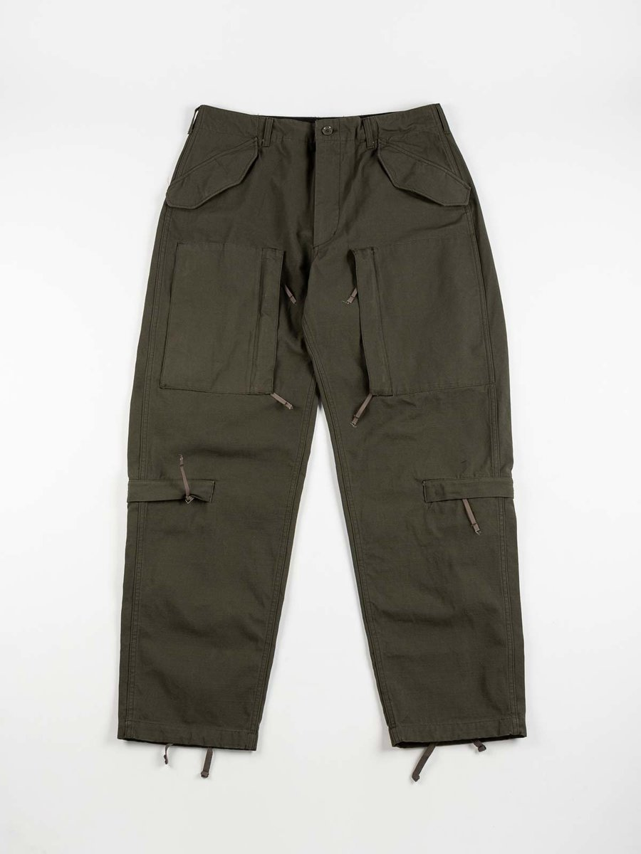 AIRCREW PANT OLIVE HEAVYWEIGHT COTTON RIPSTOP