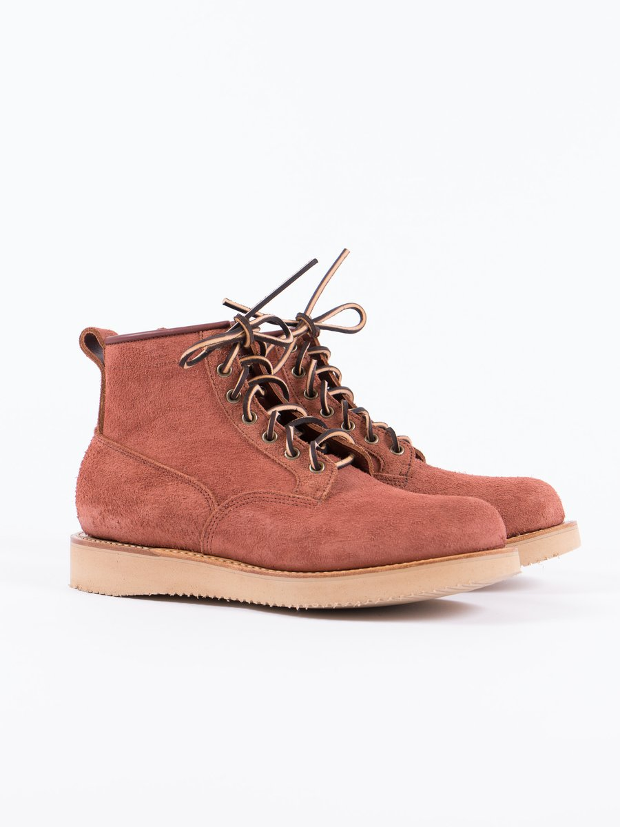 Red Dog Oil Tan Rough Out Scout Boot Special