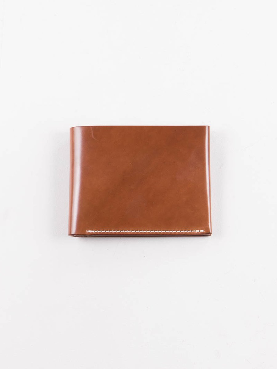 Whiskey Horween Cordovan 4–4 Wallet
