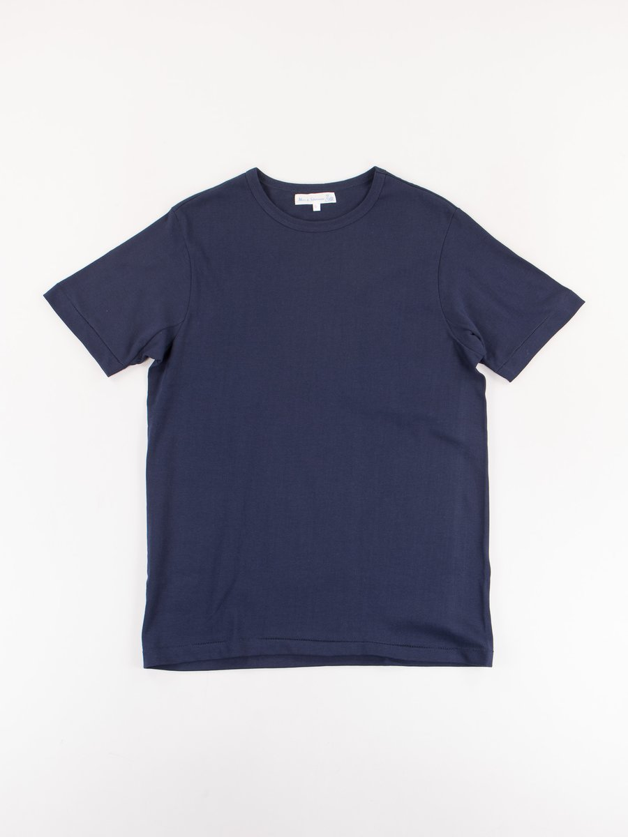 Ink Blue 215 Organic Cotton Army Shirt