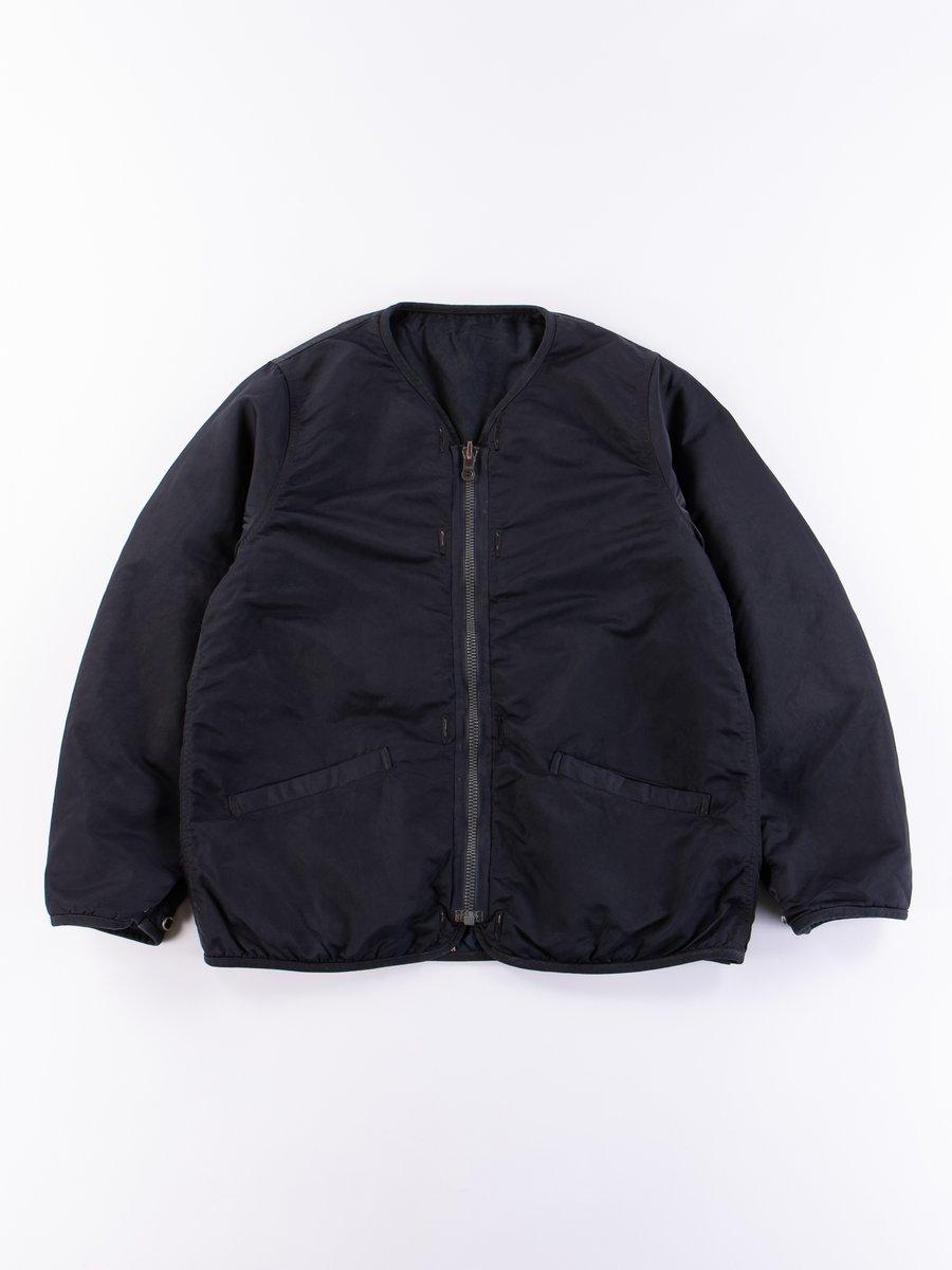 Navy Iris Liner Jacket