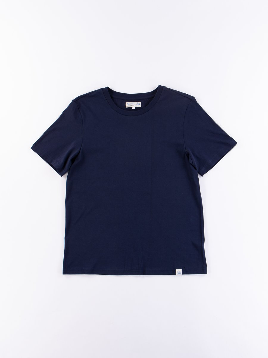 Deep Blue Good Basics CT01 Crew Neck Tee