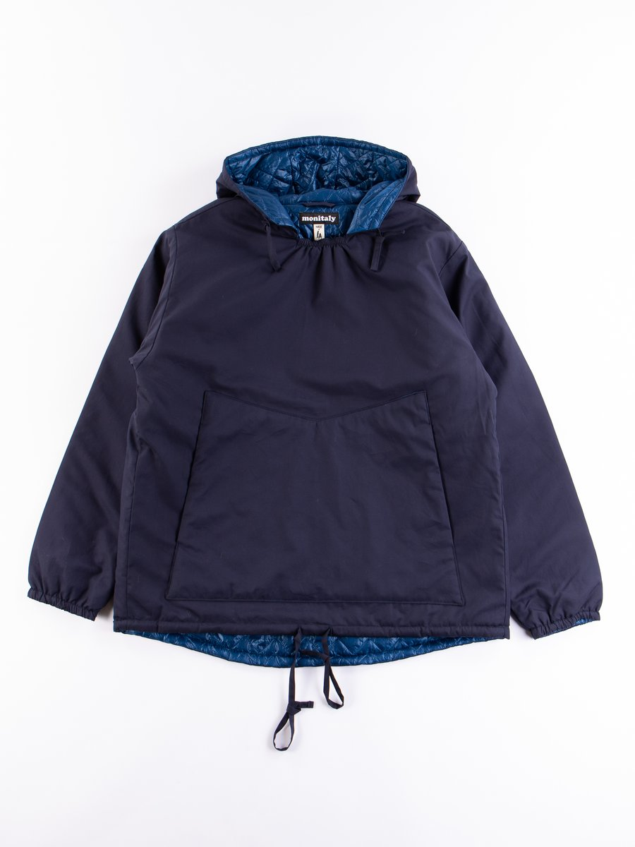Navy Vancloth Insulated Hooded Pullover