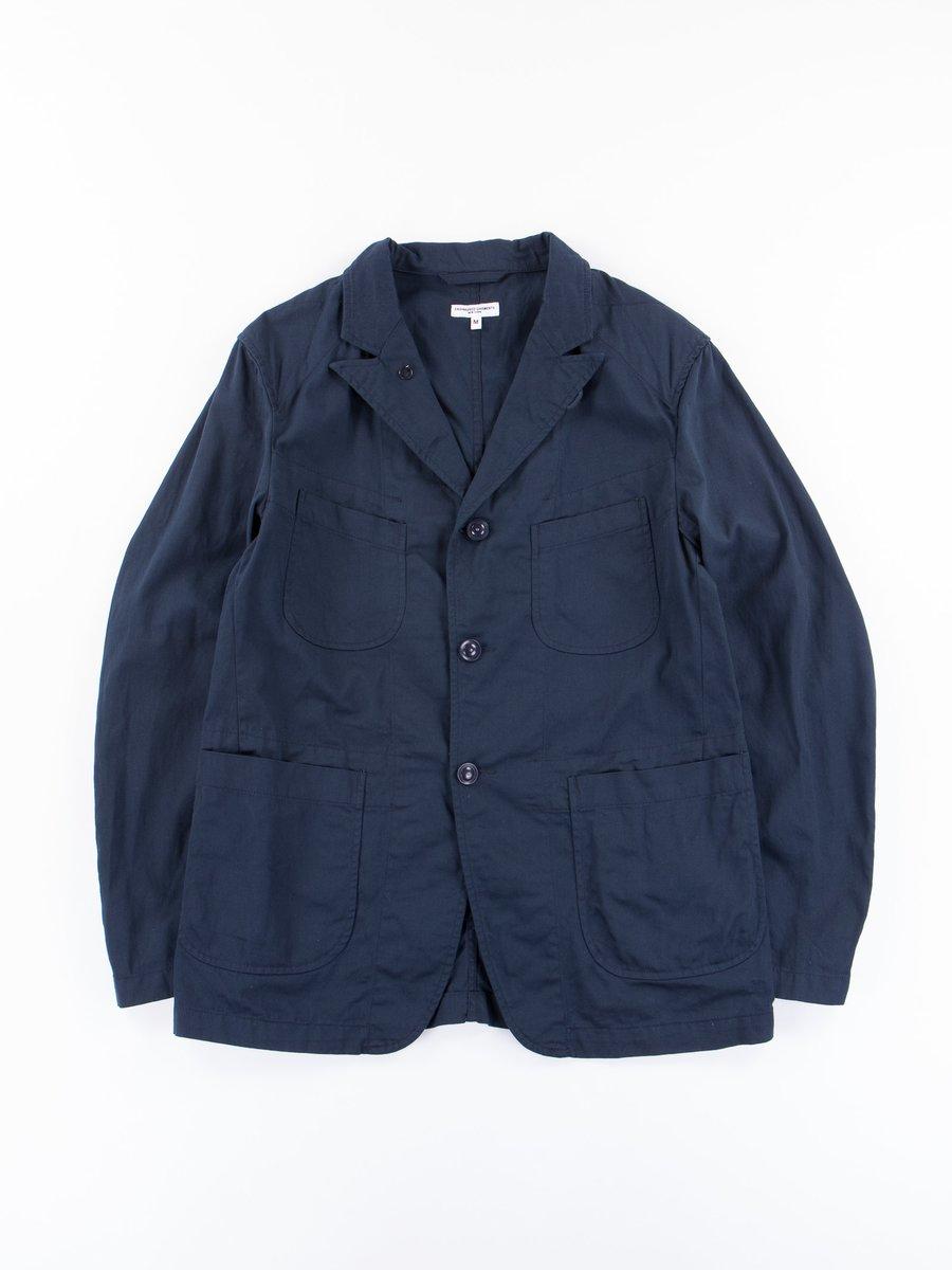 Dark Navy 7.5oz Twill Bedford Jacket