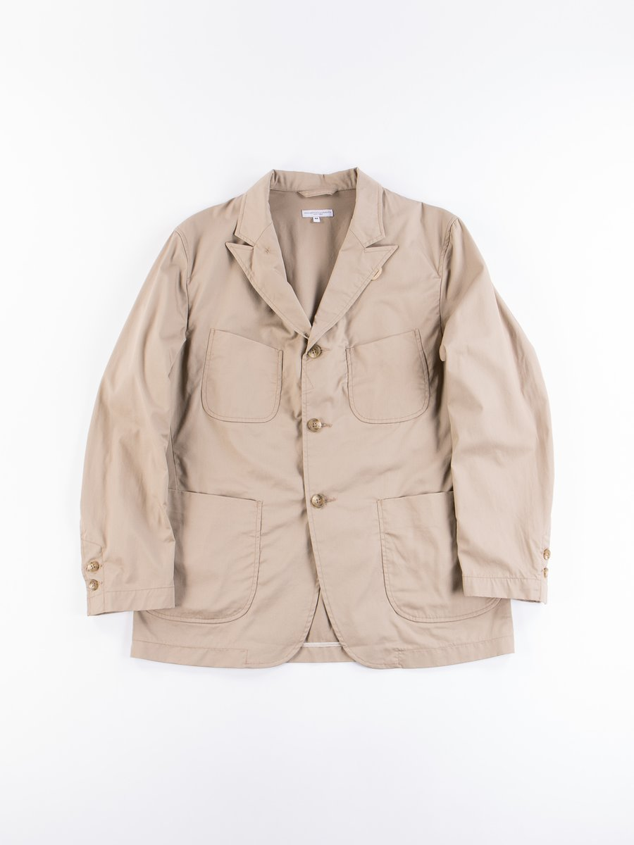 Khaki Highcount Twill NB Jacket