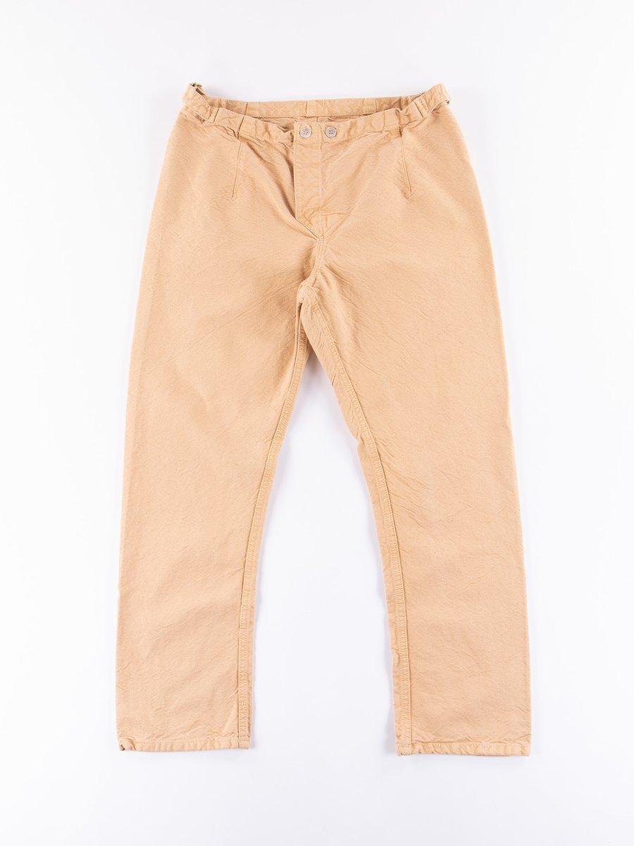 Fawn Logwood Dye Type 112 Fitted Pyjama Trousers