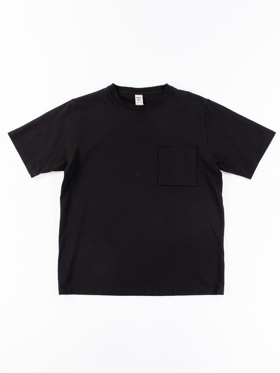 Black Pocket T–Shirt