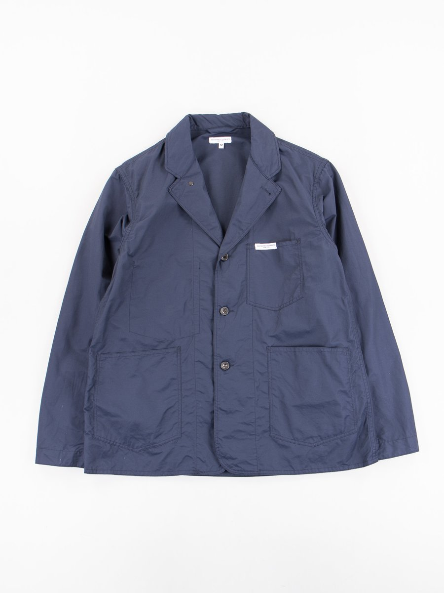 Dark Navy Nyco Twill Workers Jacket