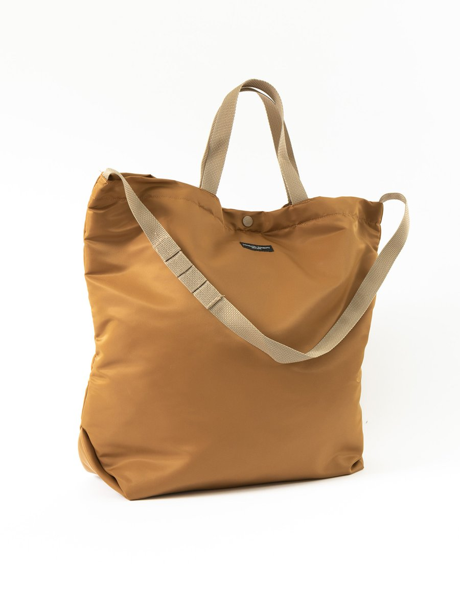 CARRY ALL TOTE COYOTE FLIGHT SATEEN NYLON