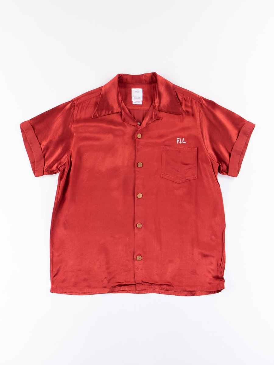 Red Peerless S/S Irving Shirt