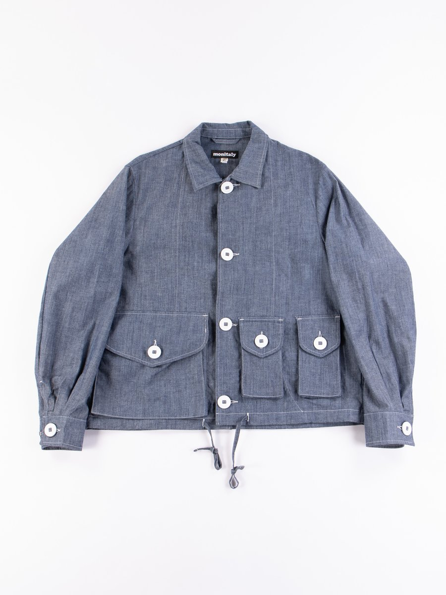 Chambray Military Service Jacket Type A