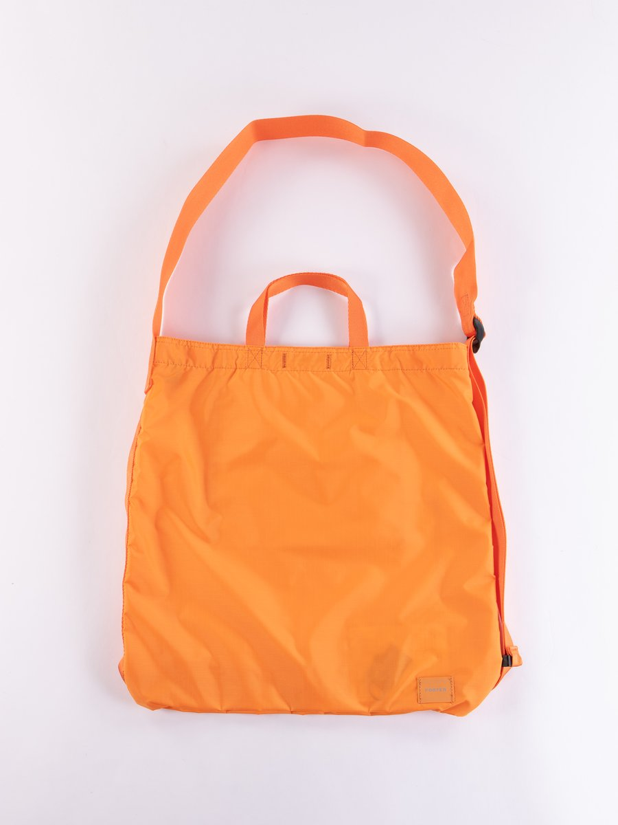 Orange Flex 2Way Shoulder Bag