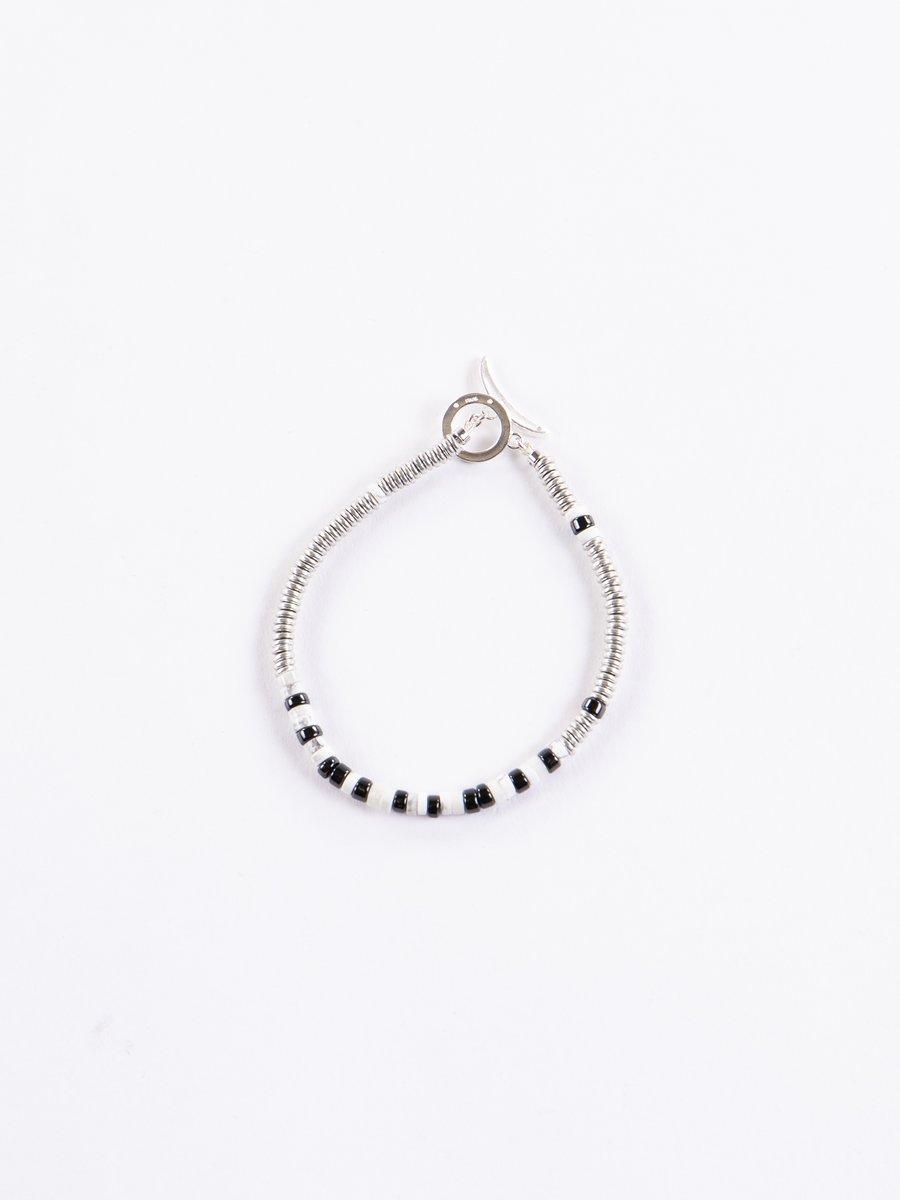Howlite Tube Beads Bracelet