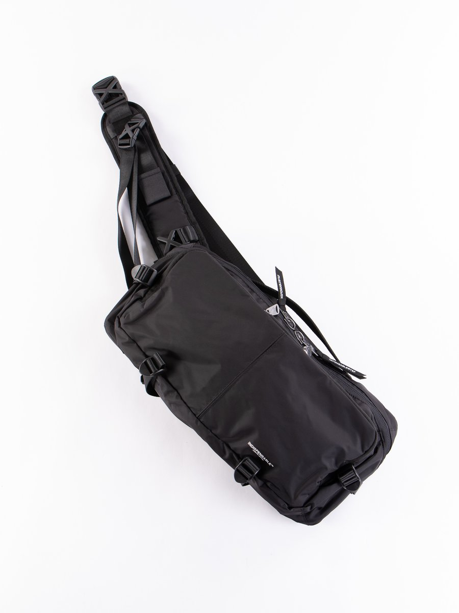 Black Econyl Snug IDP Sling Bag