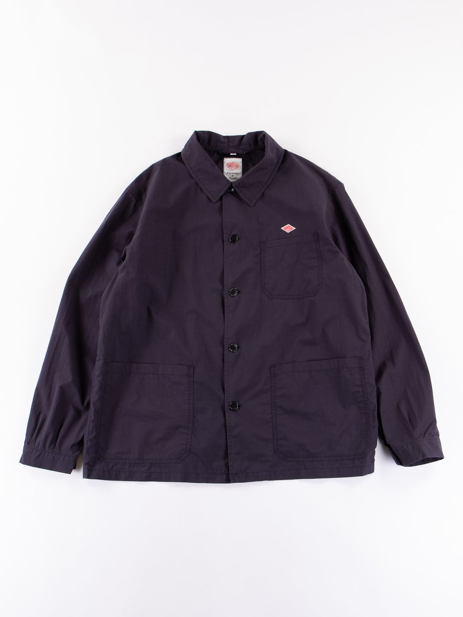 Navy Coverall Shirt Jacket