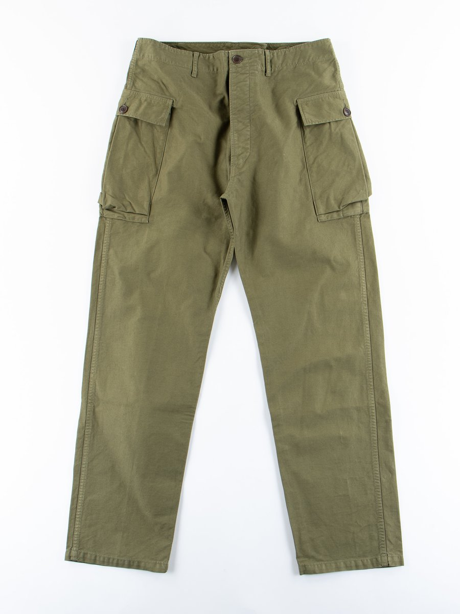 Green Veterans Pant