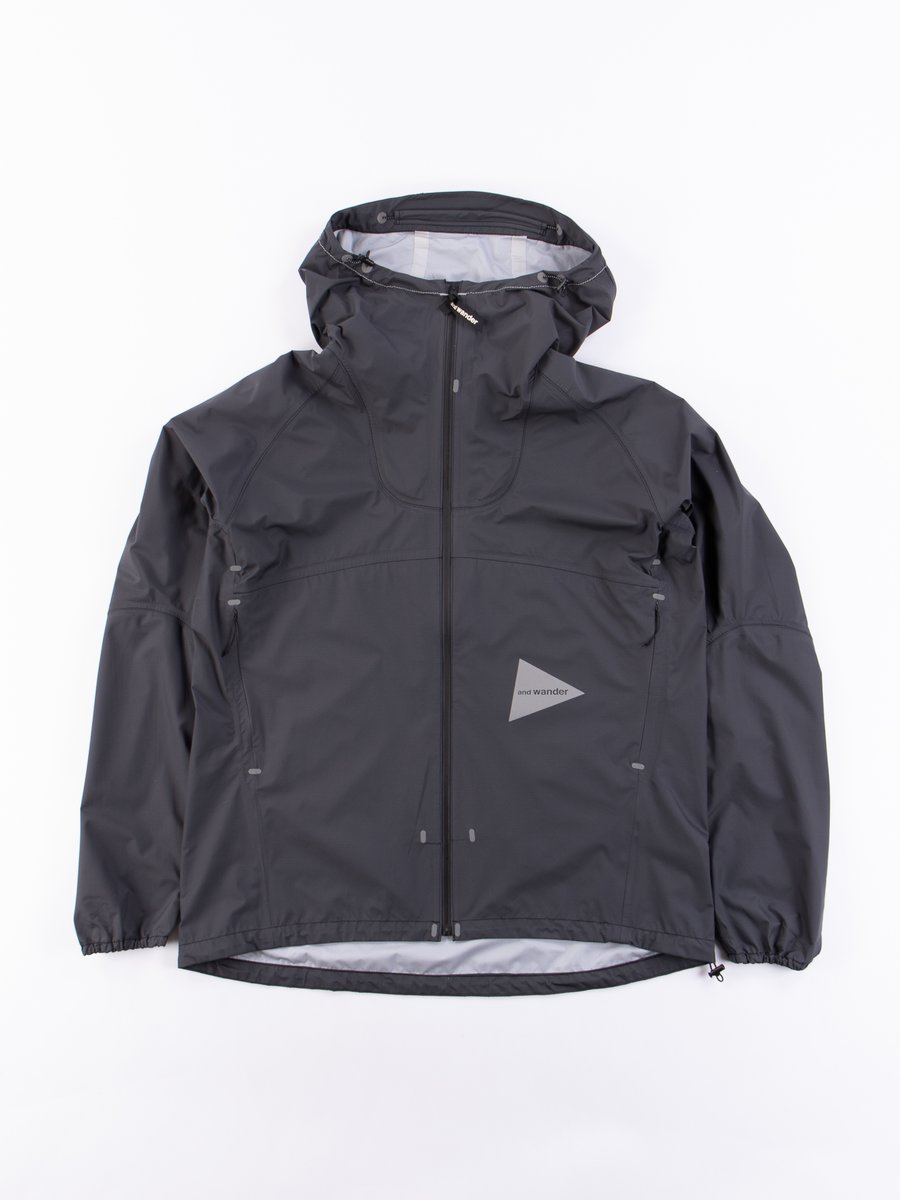 Charcoal 3L Light Rain Jacket