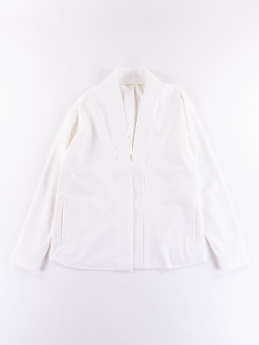J72–DS White HD Jersey Modular Liner Jacket