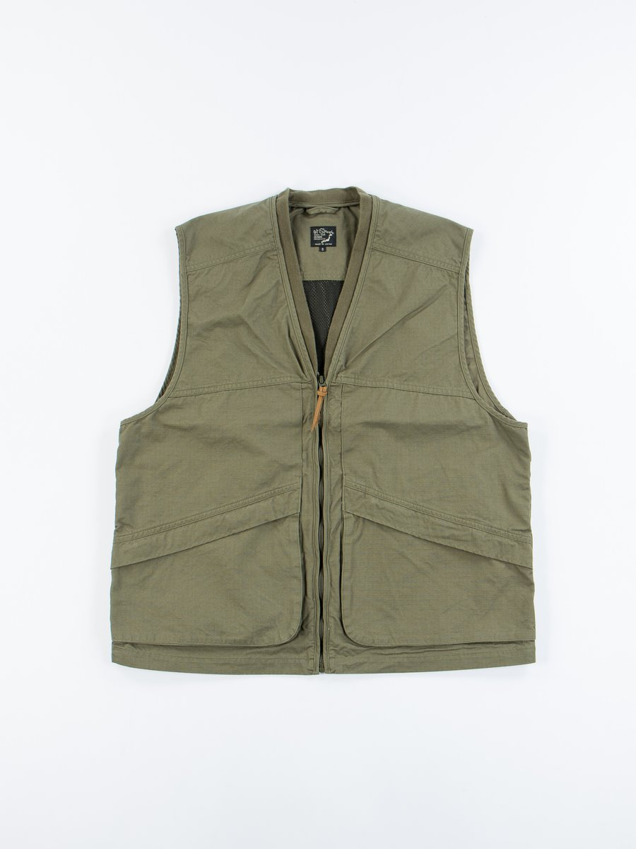 Green Ripstop Utility Vest