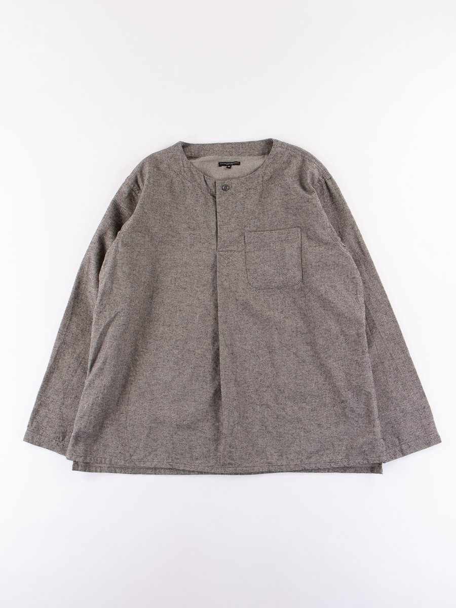 Grey Brushed Herringbone MED Shirt
