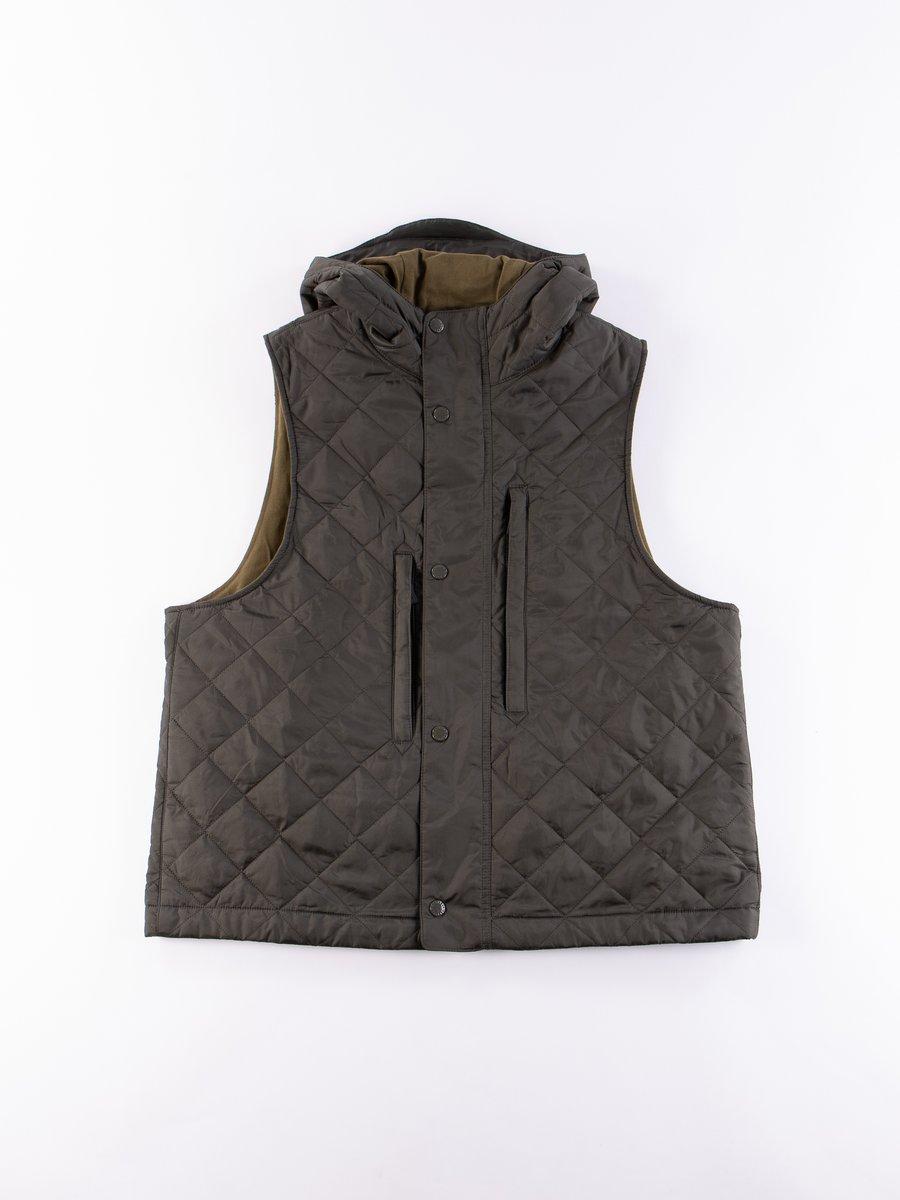 Olive Field Vest
