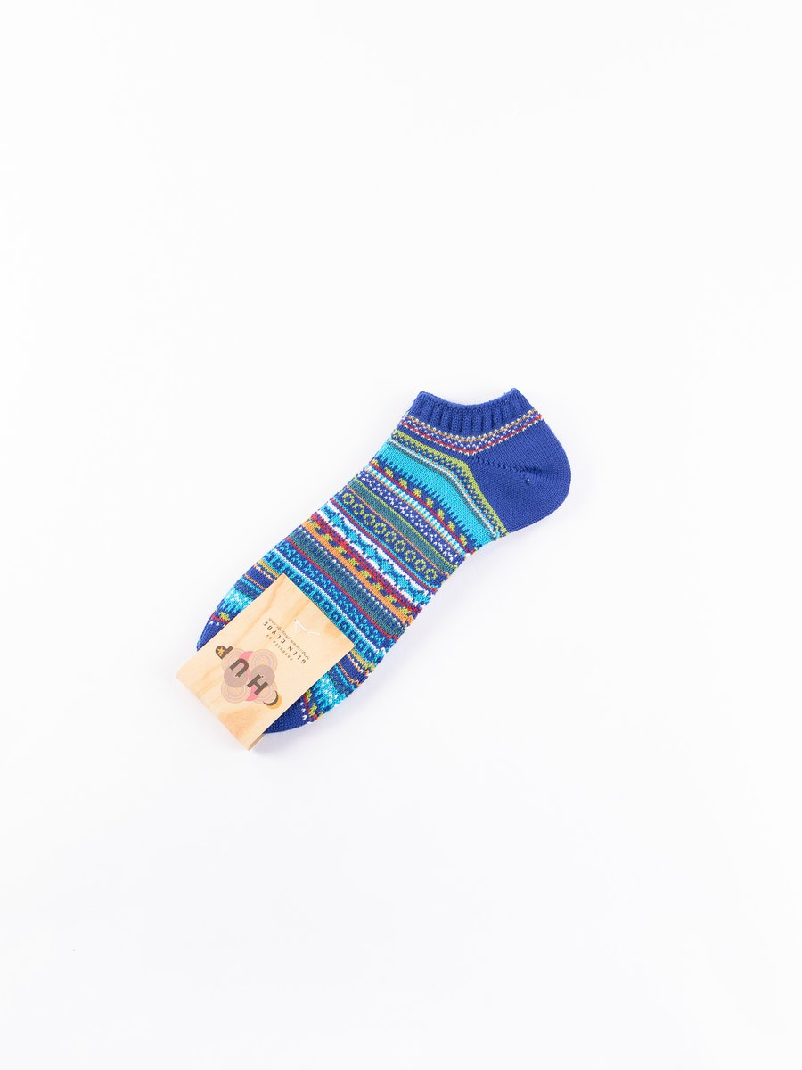 Navy Linda Ankle Socks