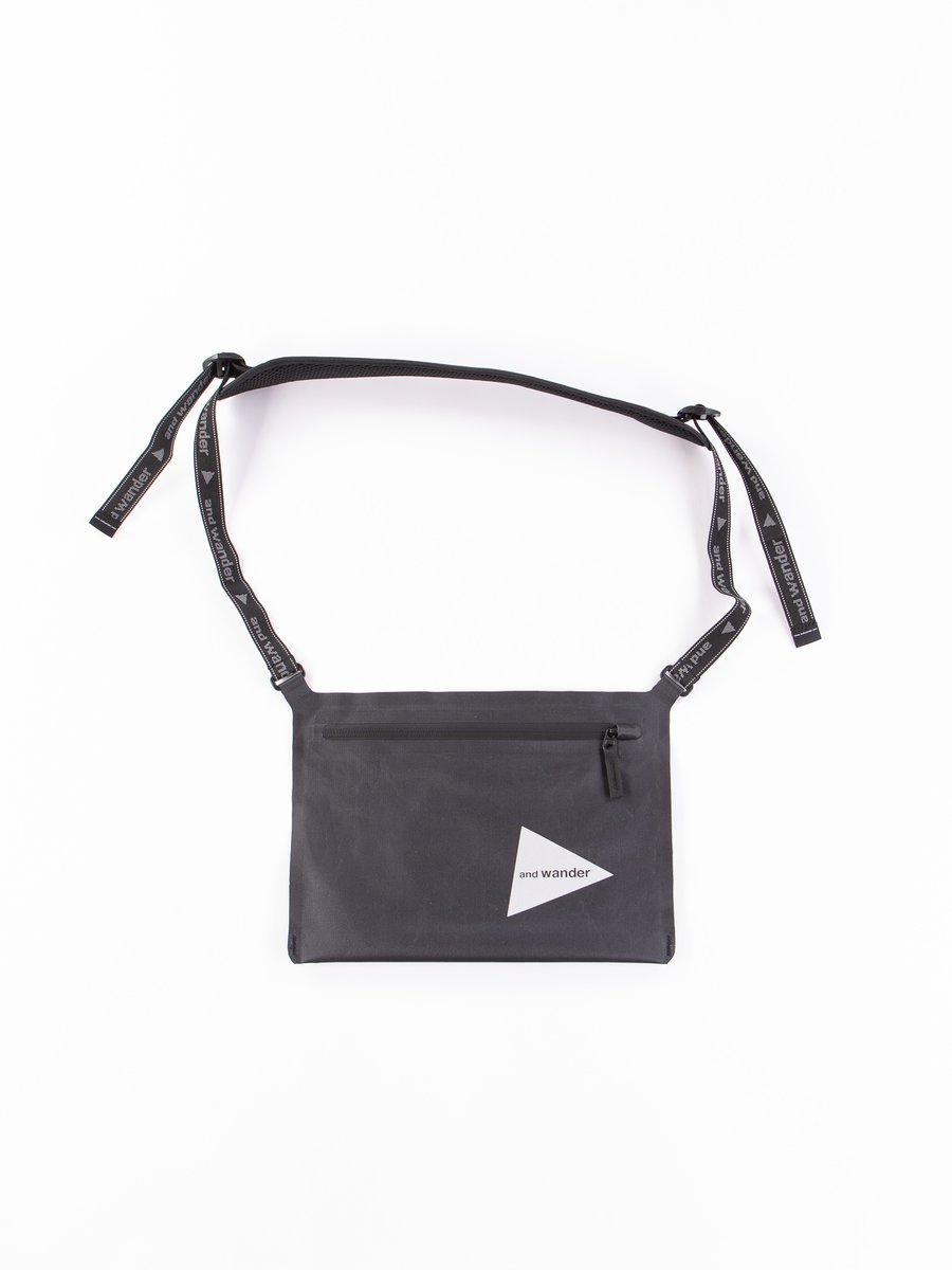 Black Waterproof Sacoche Bag