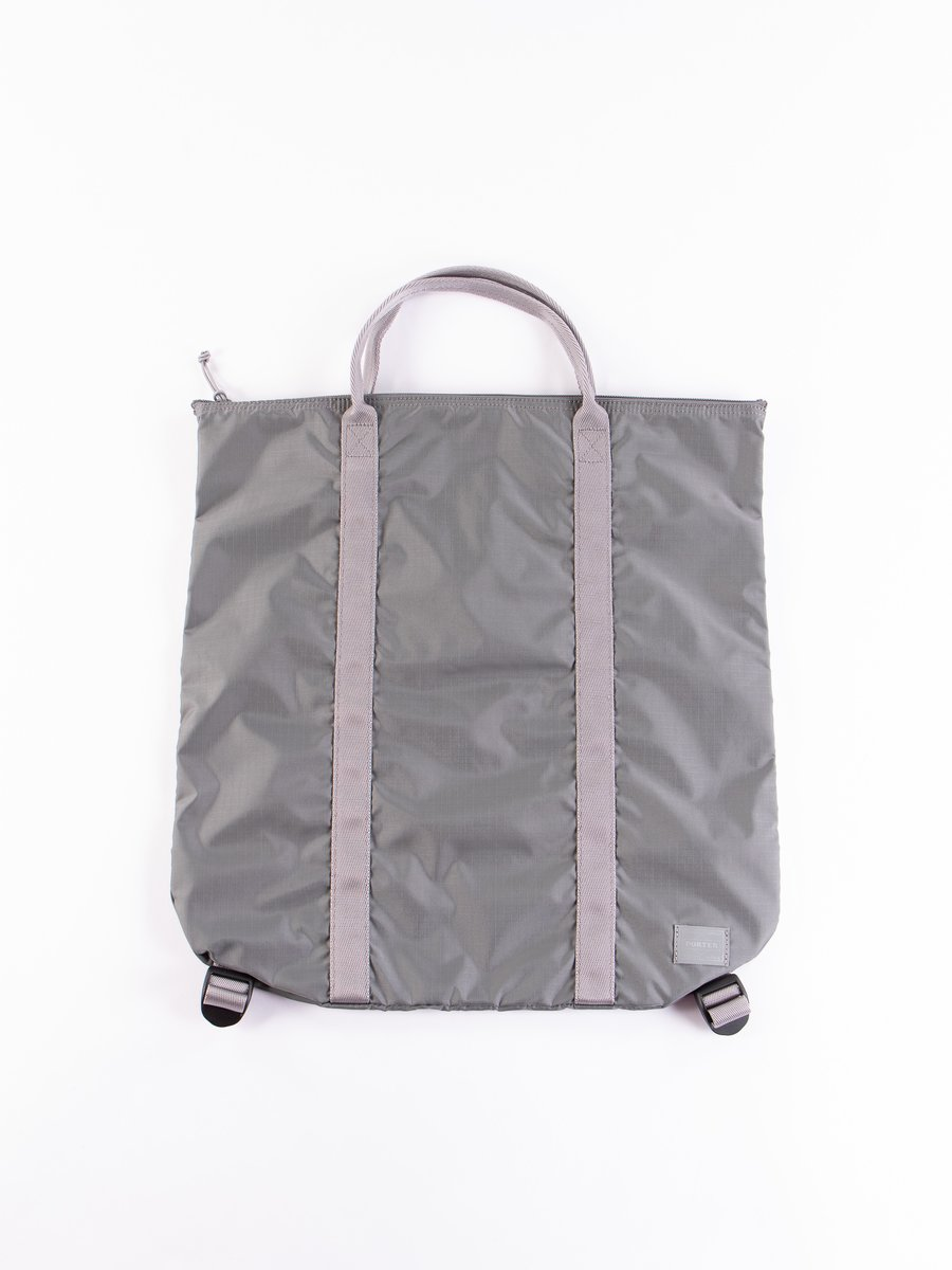 Grey Flex 2Way Tote Bag