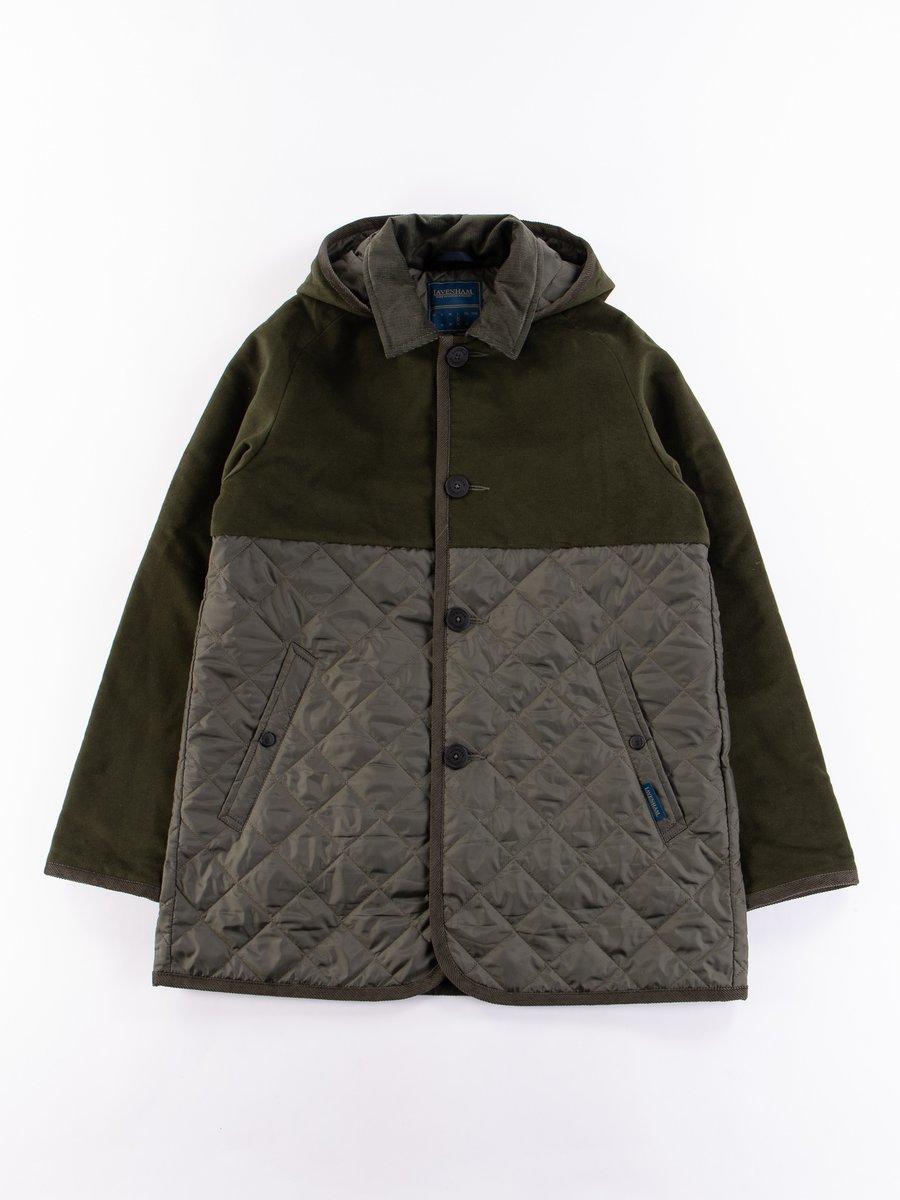 Dark Olive Spilt Denson Jacket