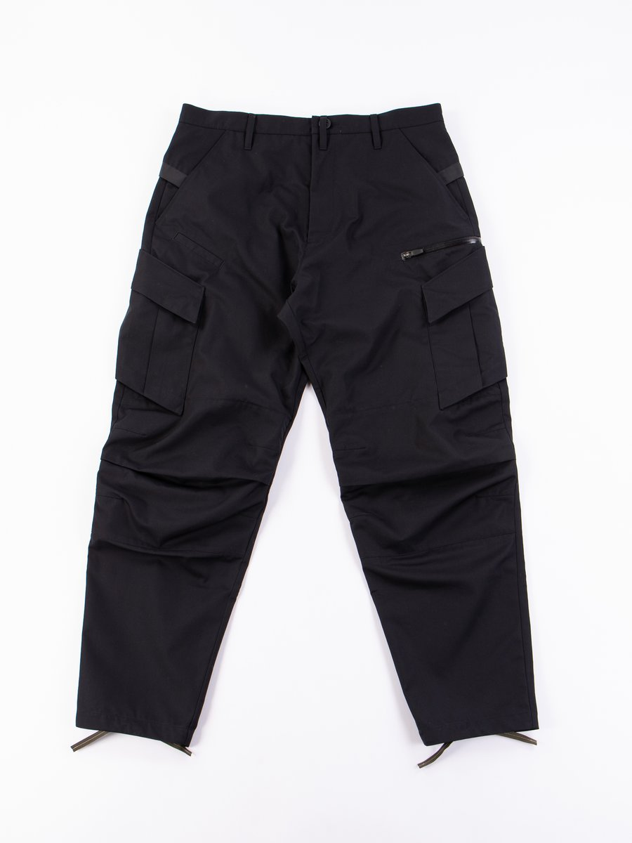 P34–S Black HD Cotton Articulated BDU Trouser