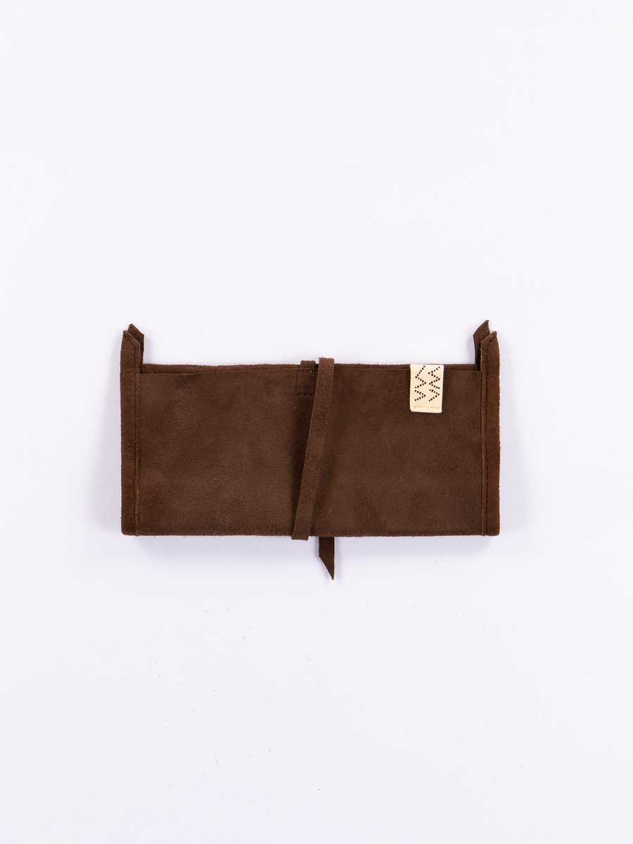 Dark Brown Wrap Wallet