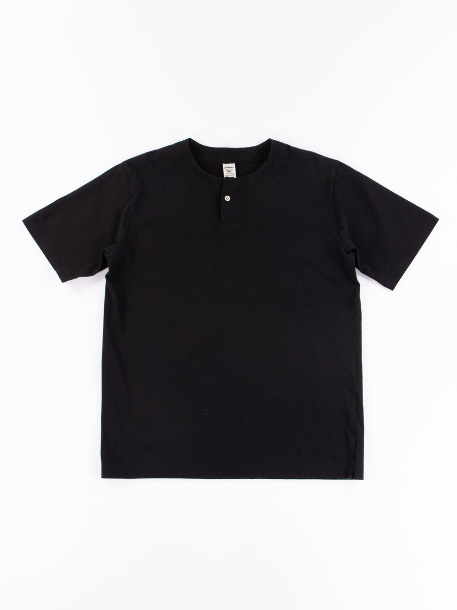 Black Henley T–Shirt