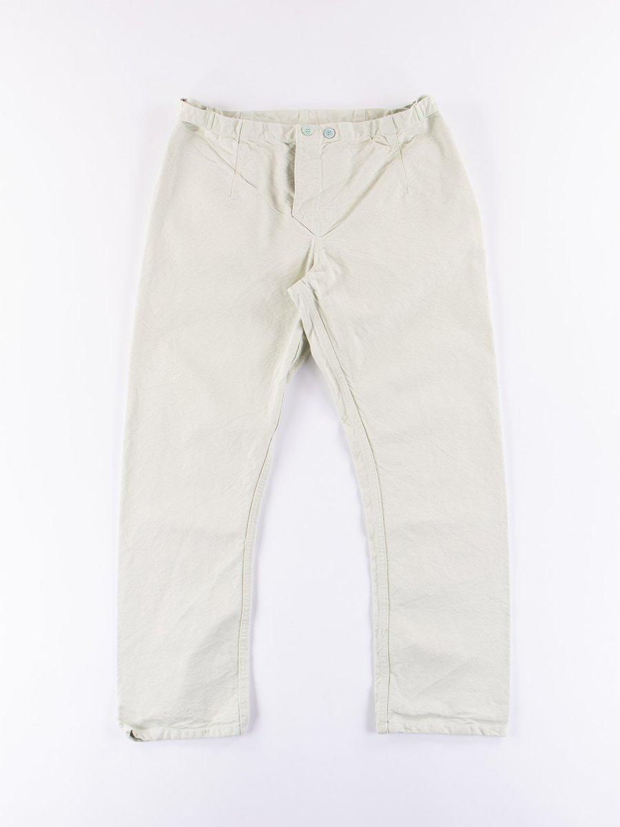 Verdigris Dye Type 112 Fitted Pyjama Trousers