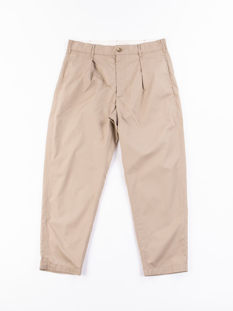 Khaki Highcount Twill Carlyle Pant