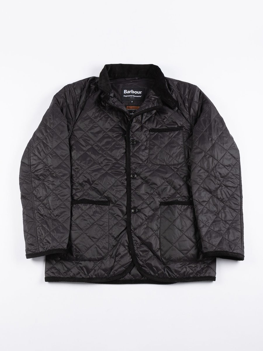 LOITERY QUILTED JACKET BLACK