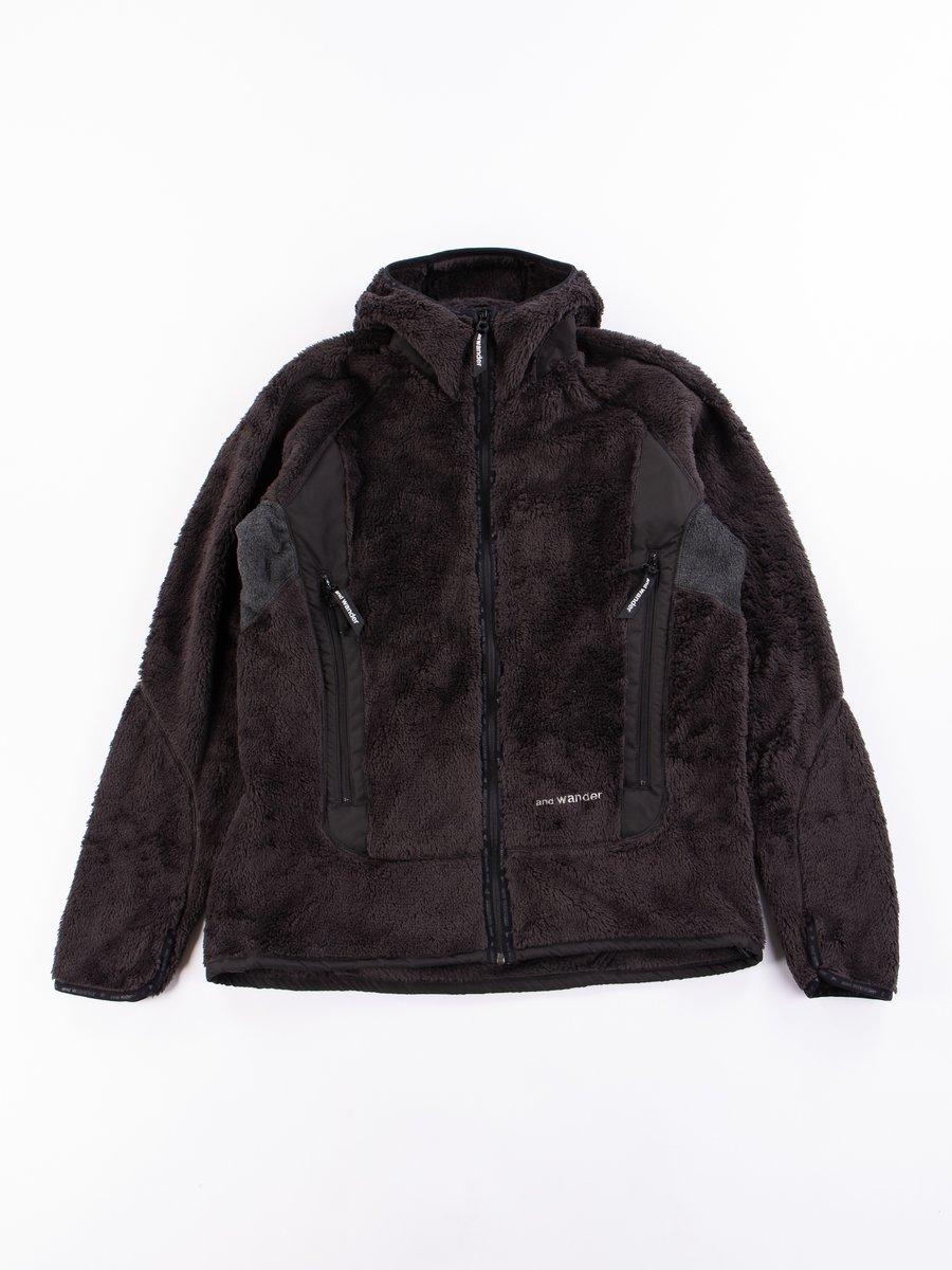 Charcoal High Loft Fleece Hoody