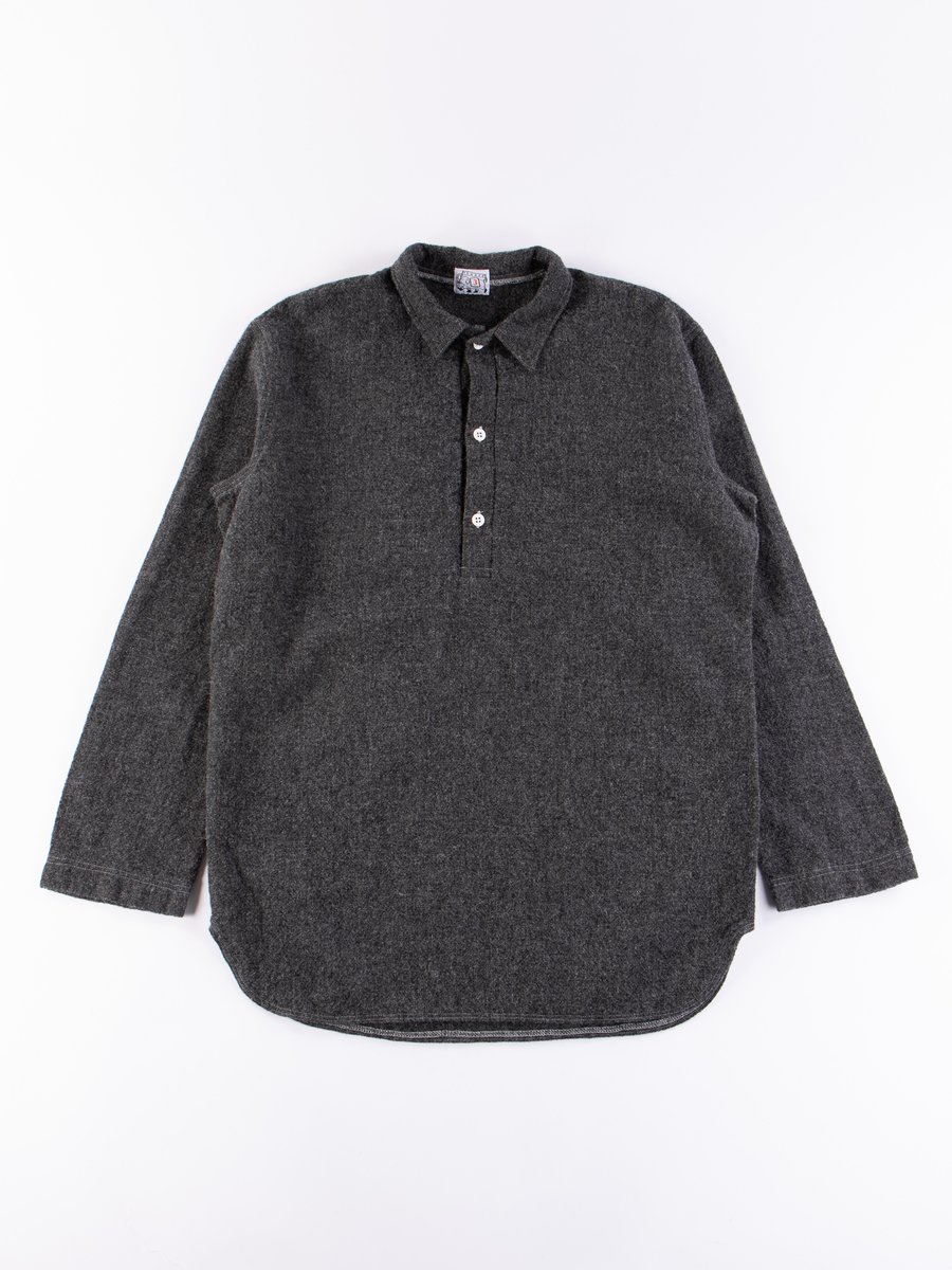 Charcoal Weavers Stock Pullover Tail Shirt