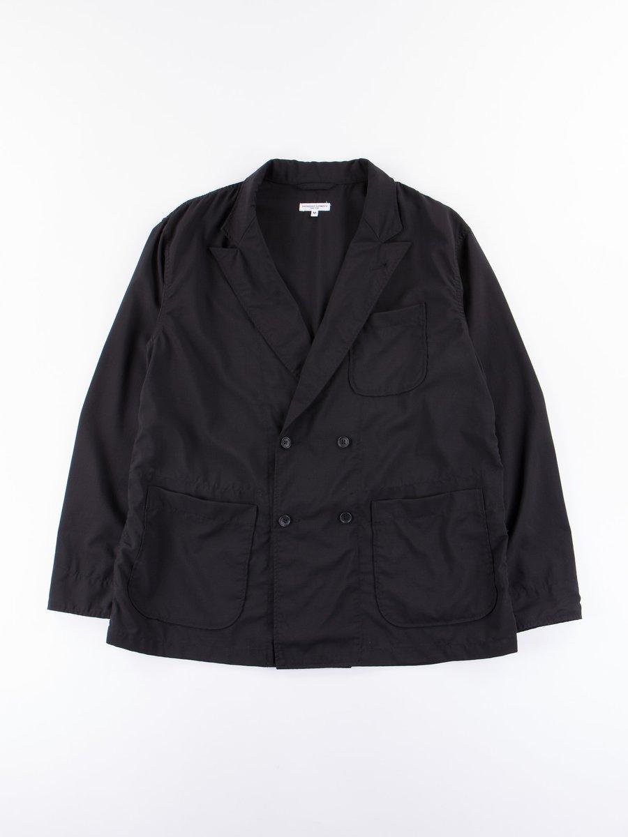 Black Tropical Wool Cordura DL Jacket