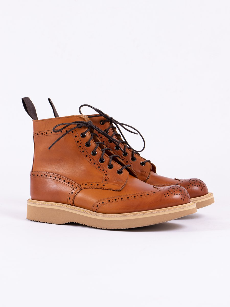 Acorn Funchal Brogue Stow Boot