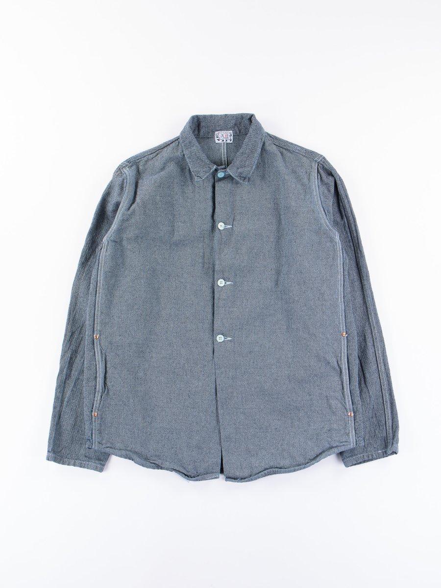 Verdigris Dye Double Front Butterfly Jacket
