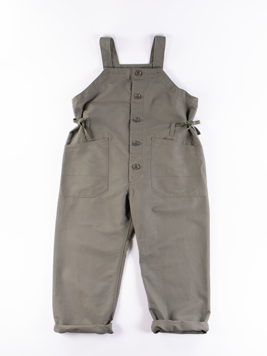 Olive Cotton Double Cloth Waders