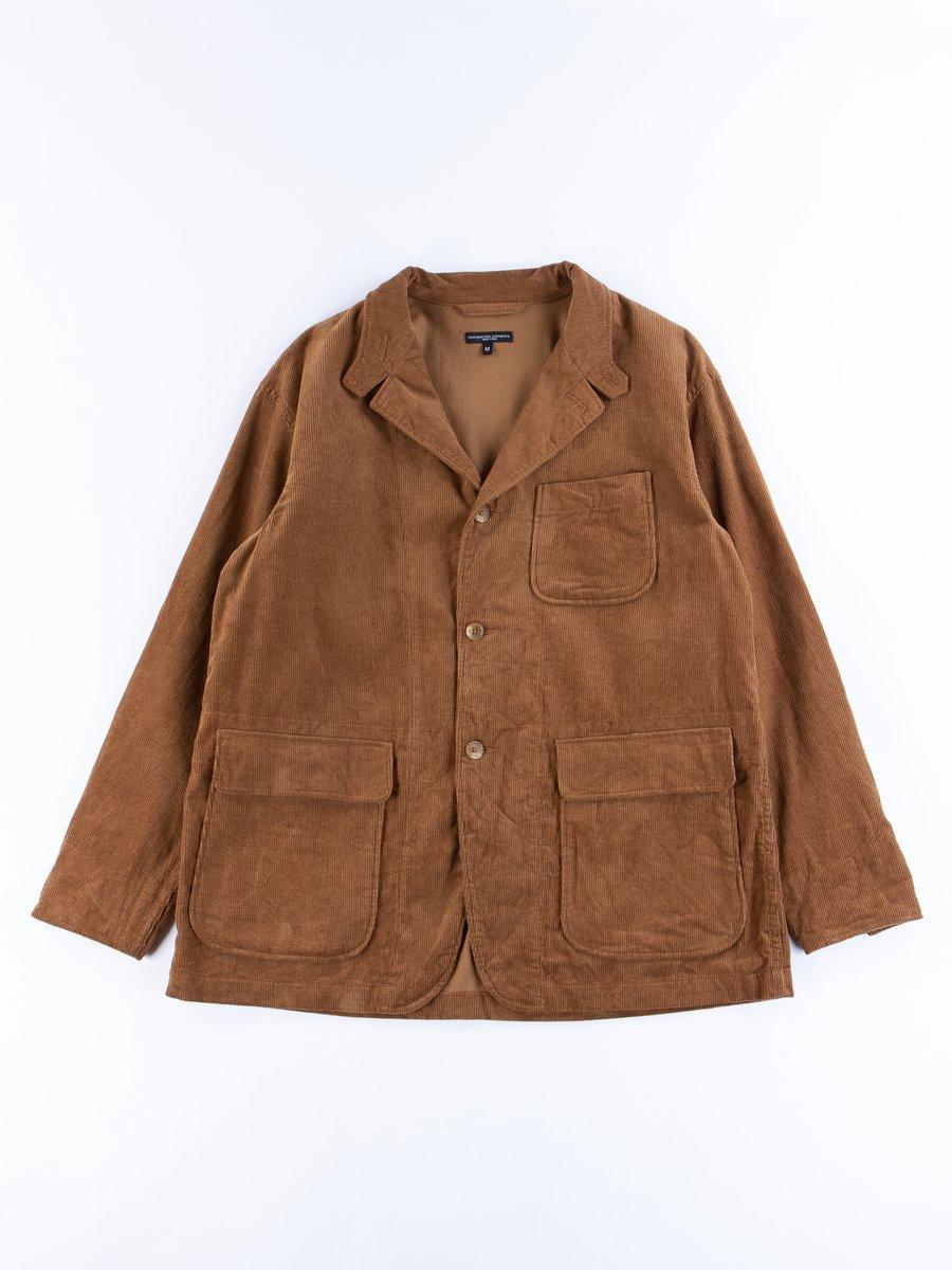 Chestnut Cotton 11W Corduroy Loiter Jacket